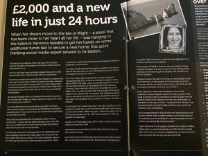 Veronica Pullen , Entrepreneurs Circular magazine November 2013