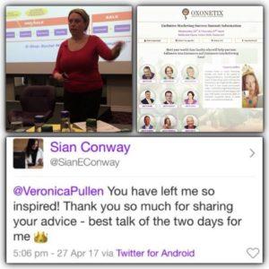 Oxonetix Marketing Success Summit Feedback | Veronica Pullen