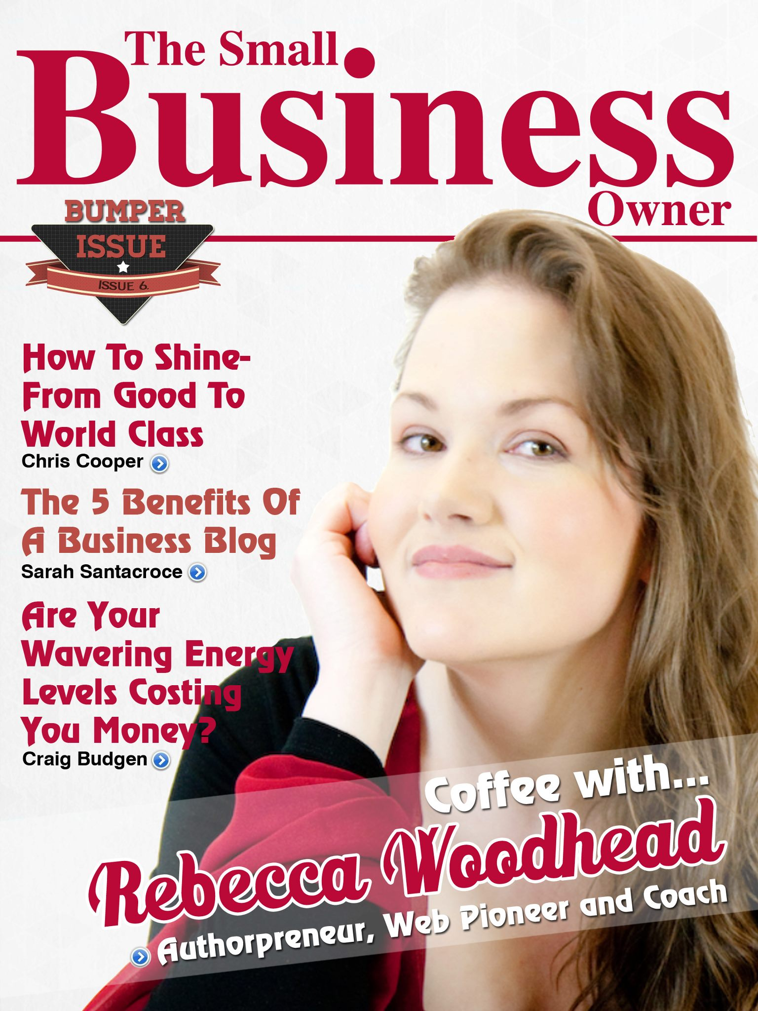 Veronica Pullen in Small Business Owner Magazine