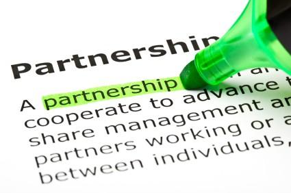 A New Partnership is Born!