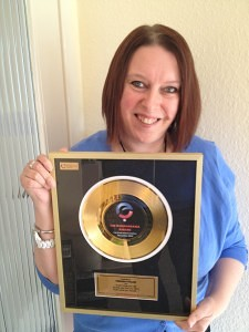Veronica Pullen, Entrepreneurs Circle Banarama Award November 2013