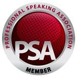 Member of Professional Speaking Association logo