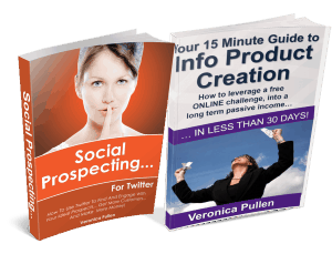 Social Prospecting & 15 Minute Guide 3D Images