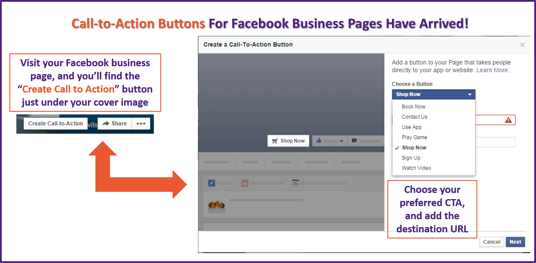 How to Customise Your Facebook Call to Action Button!