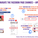 Quick Guide to the Facebook Page Changes 2016 | Veronica Pullen
