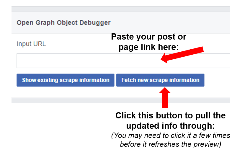 How to Update the Link Preview Image in Facebook