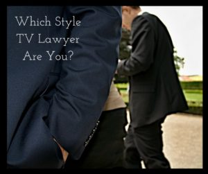 Viral Social Media Quiz Which TV Lawyer Are You