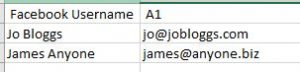 Excel Delete All Except Name and Email Columns