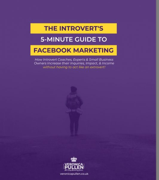 "My new ""5-Minute Guide to Organic Facebook Marketing for Introverts"""