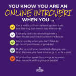 You Know You're an Online Introvert