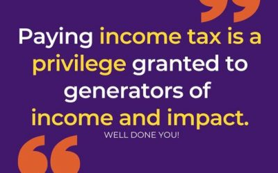 Why Paying Income Tax is a Privilege