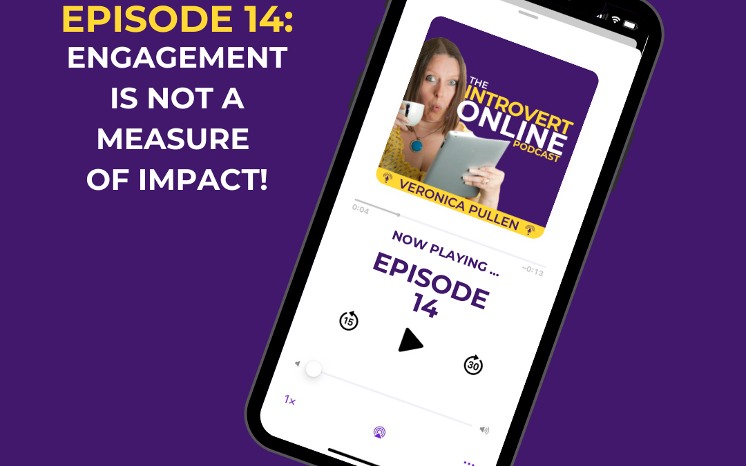 [Episode 14] Engagement is Not a Measure of Impact