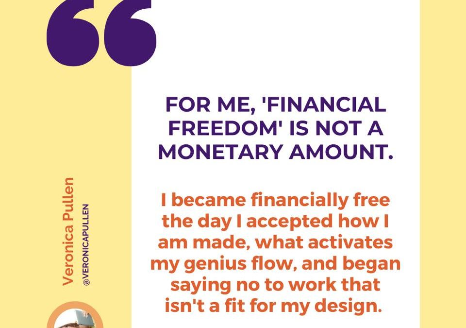 Financial Freedom – But Not as You Know It!